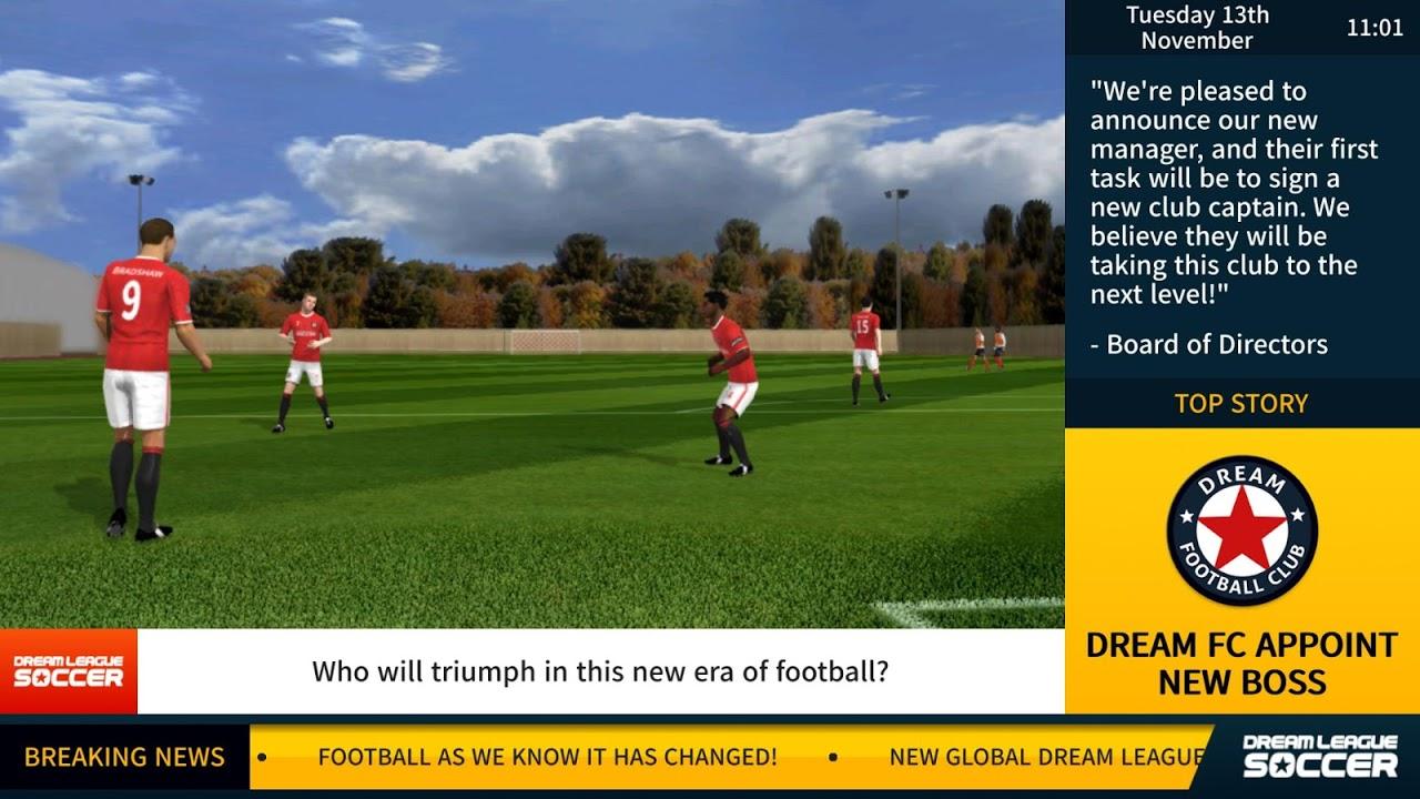 Dream League Soccer 2017 6.05 Screen 2