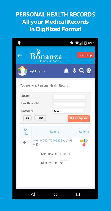 Android Bonanza Health Screen 5