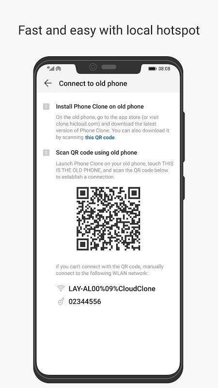 Phone Clone 9.0.3.303_OVE Screen 1