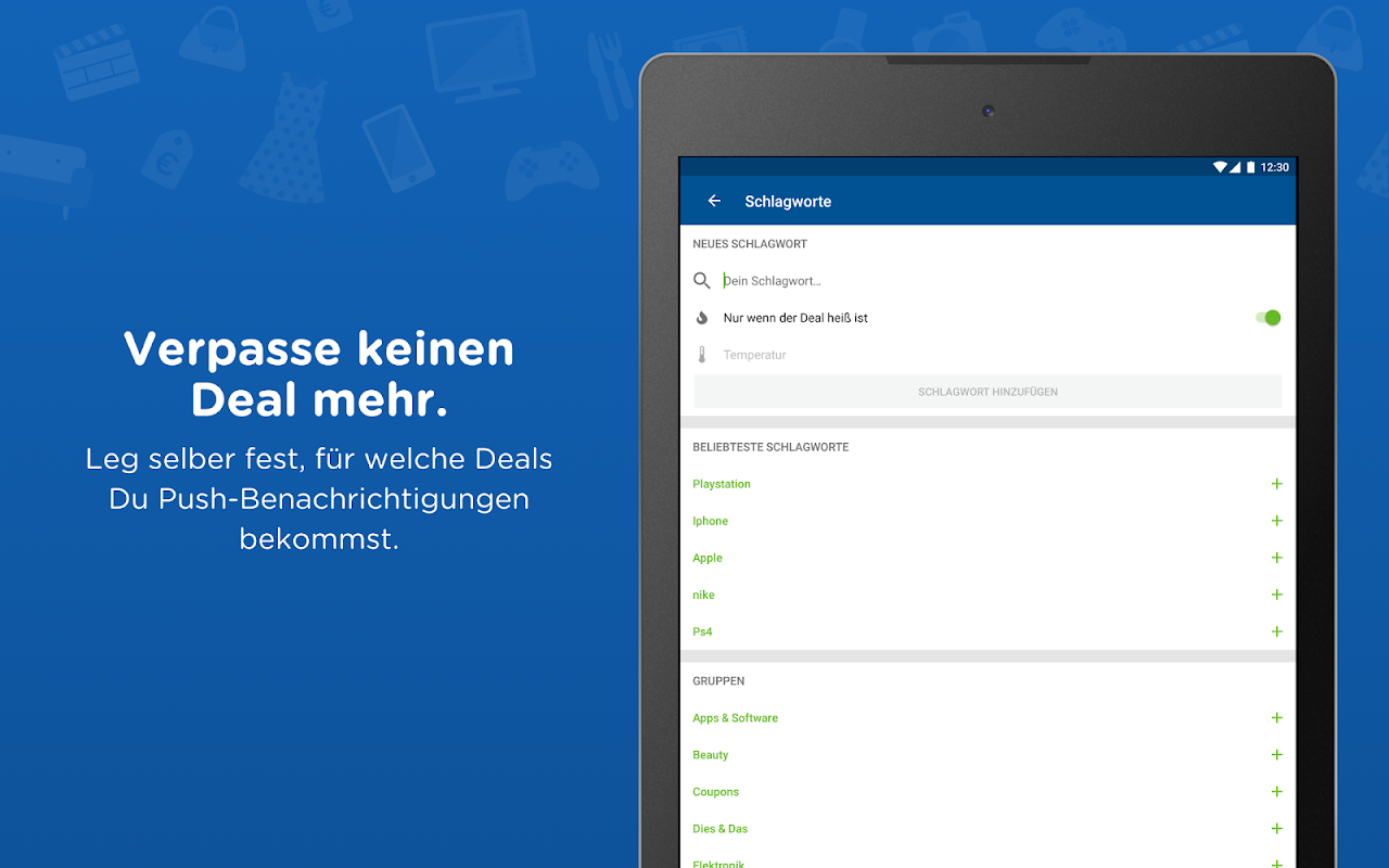 Android mydealz – Gutscheine, Schnäppchen, Angebote, Sale Screen 8