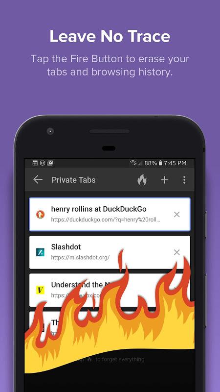 DuckDuckGo Privacy Browser 5.15.1 Screen 1
