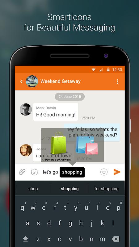Nimbuzz Messenger / Free Calls 6.0.0 Screen 3