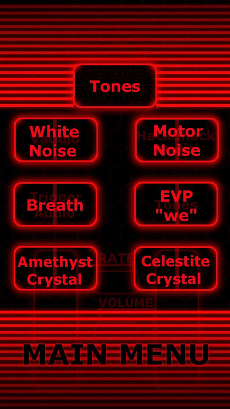 VBE ULTIMATE GHOST BOX 1.0 Screen 6