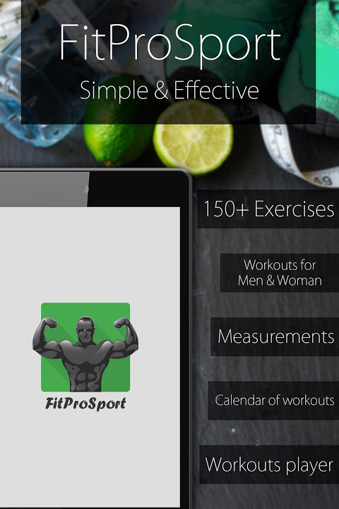 Fitness Coach FitProSport 4.54 Screen 2