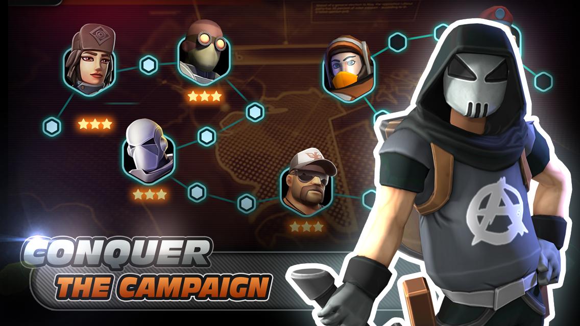 Alpha Squad 5: RPG & PvP Online Battle Arena 1.5.51 Screen 1