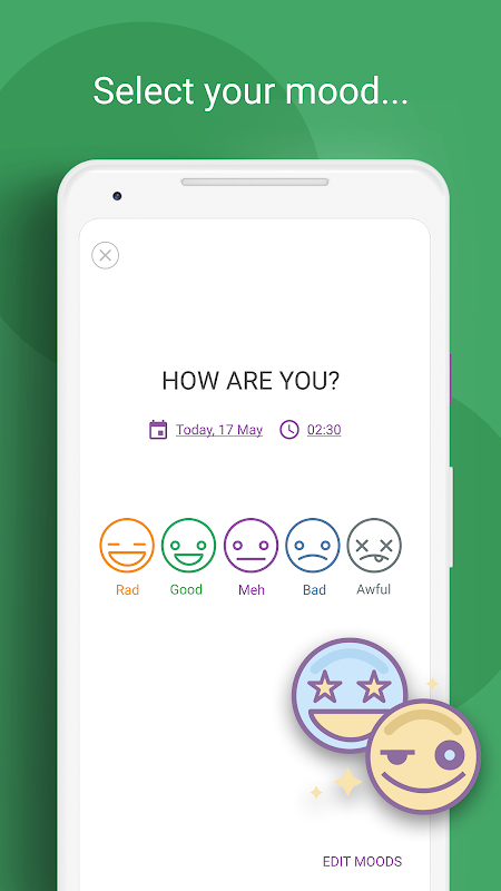 Daylio - Diary, Journal, Mood Tracker 1.18.1 Screen 2