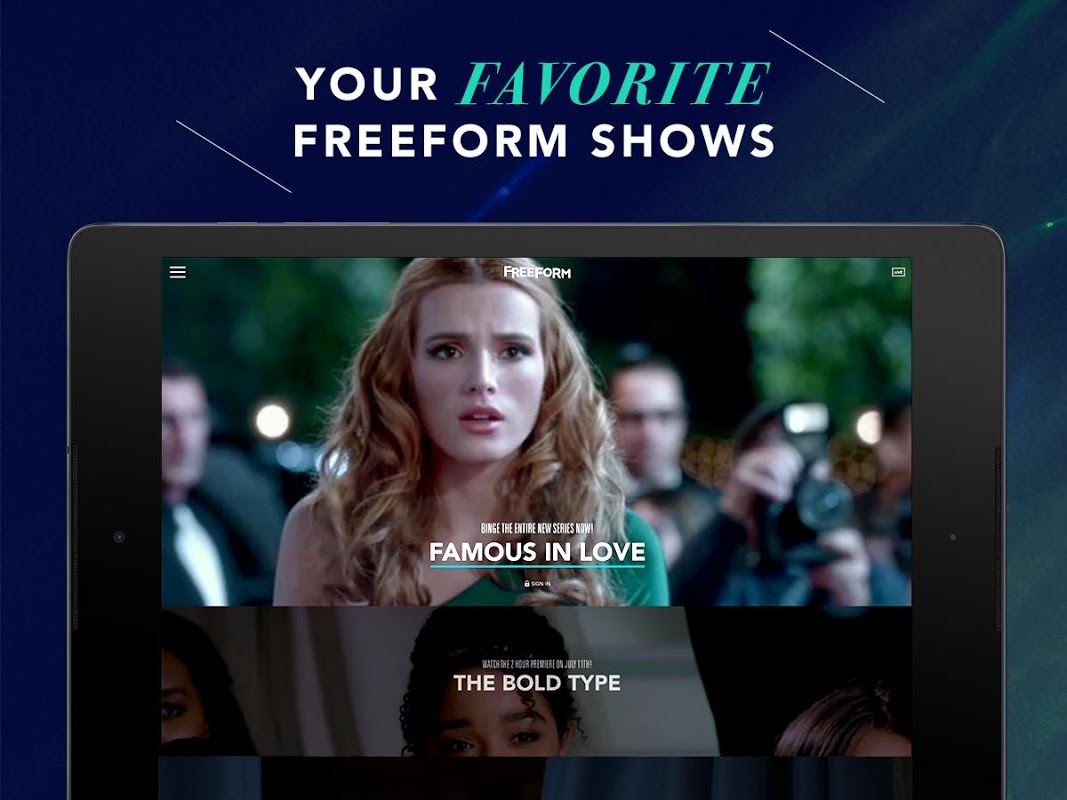 Android Freeform – TV & Full Episodes Screen 8
