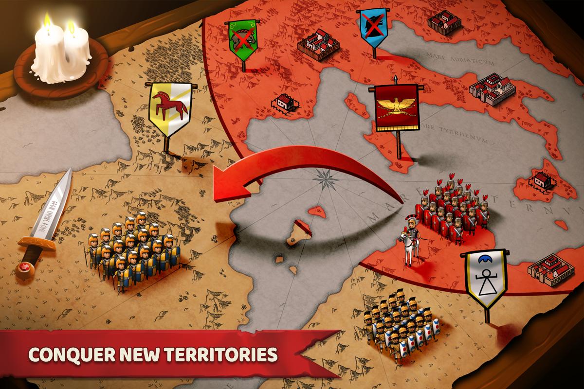 Grow Empire: Rome 1.3.85 Screen 16