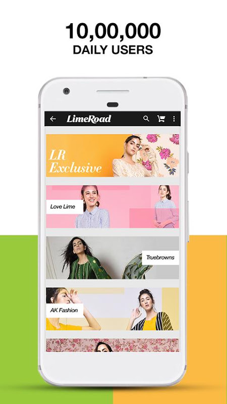 LimeRoad Online Shopping App 5.5.8 Screen 2