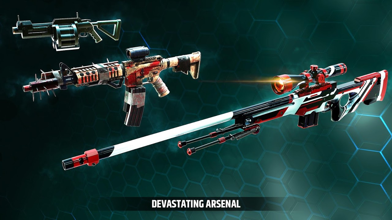 Android Cover Fire: shooting games Screen 3