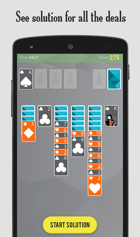 SOLITAIRE Patience - Card Game 7.0.6-minApi18c Screen 5