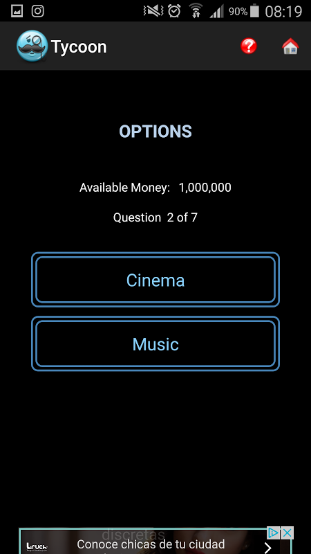 Android Tycoon Screen 2