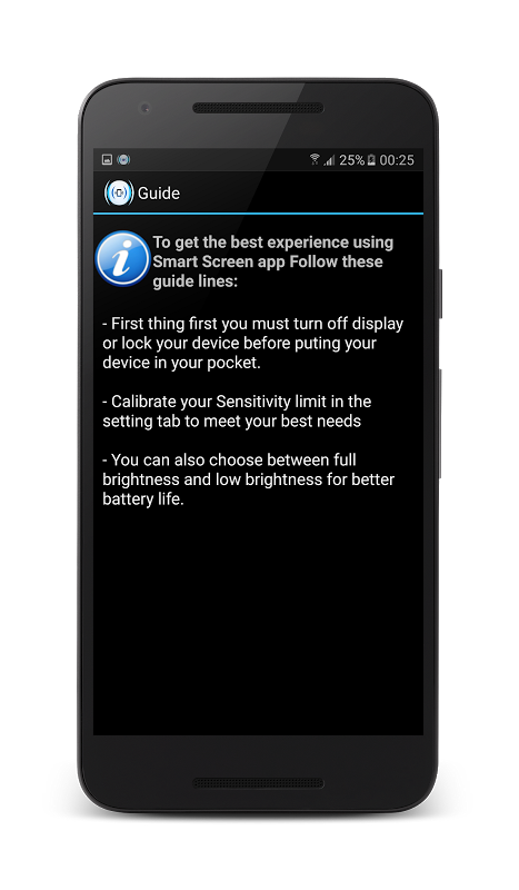 Smart View Auto On/Off Display 1.7 Screen 3
