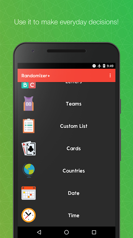 Randomizer+ Random Pick Generator - Decision Maker 2 8 APK