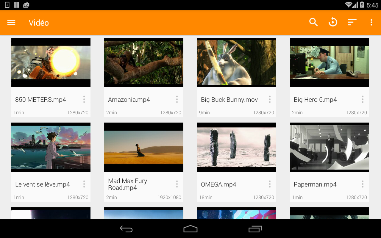 VLC for Android 3.0.2 Screen 2