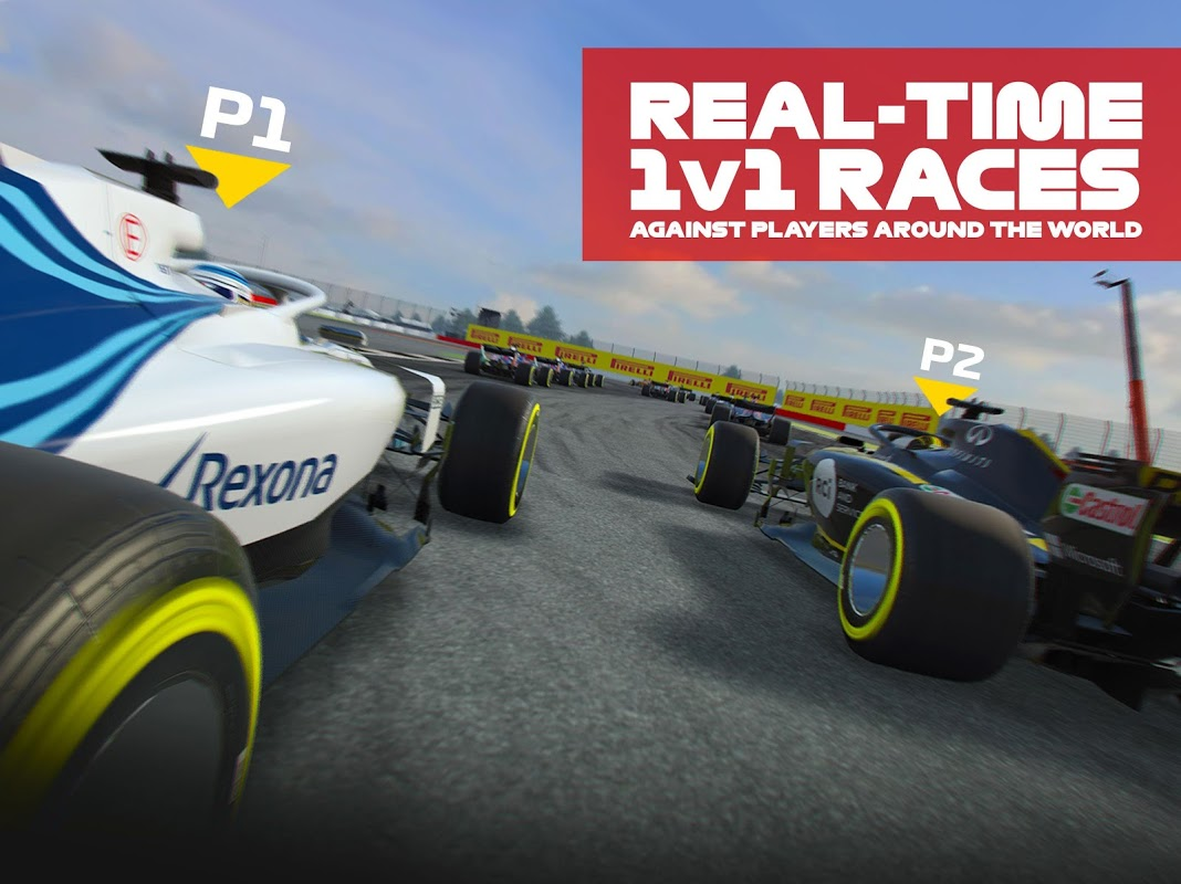 Android F1 Mobile Racing Screen 10