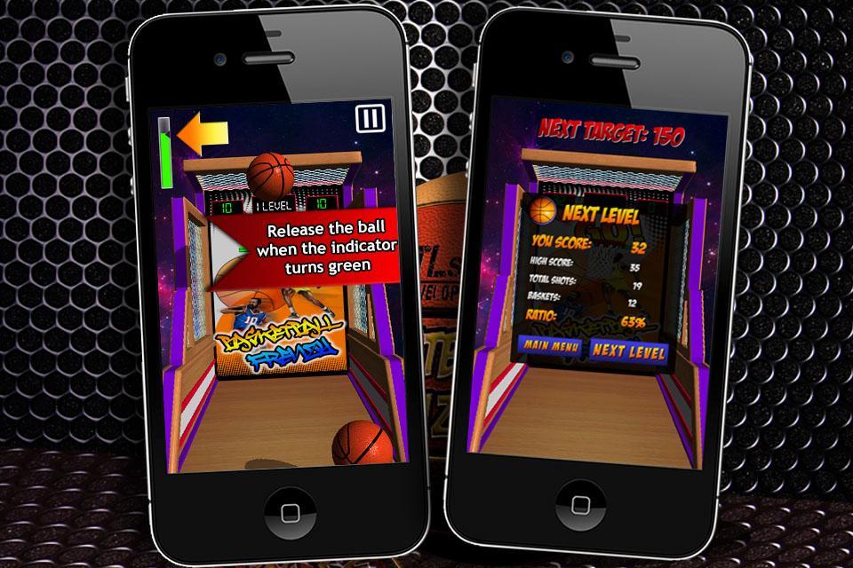 Basketball Frenzy 1.2 Screen 2
