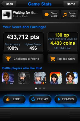 Android Tap Tap Revenge 4 Screen 5