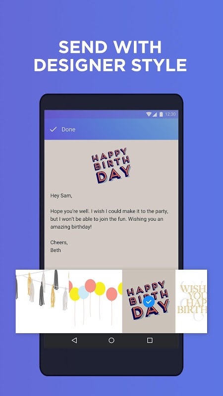Android Yahoo Mail - Stay Organised Screen 3