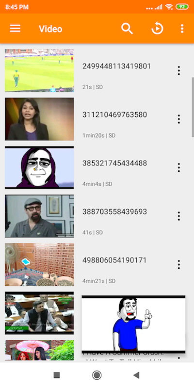 VLC Lite 12.44 Screen 4