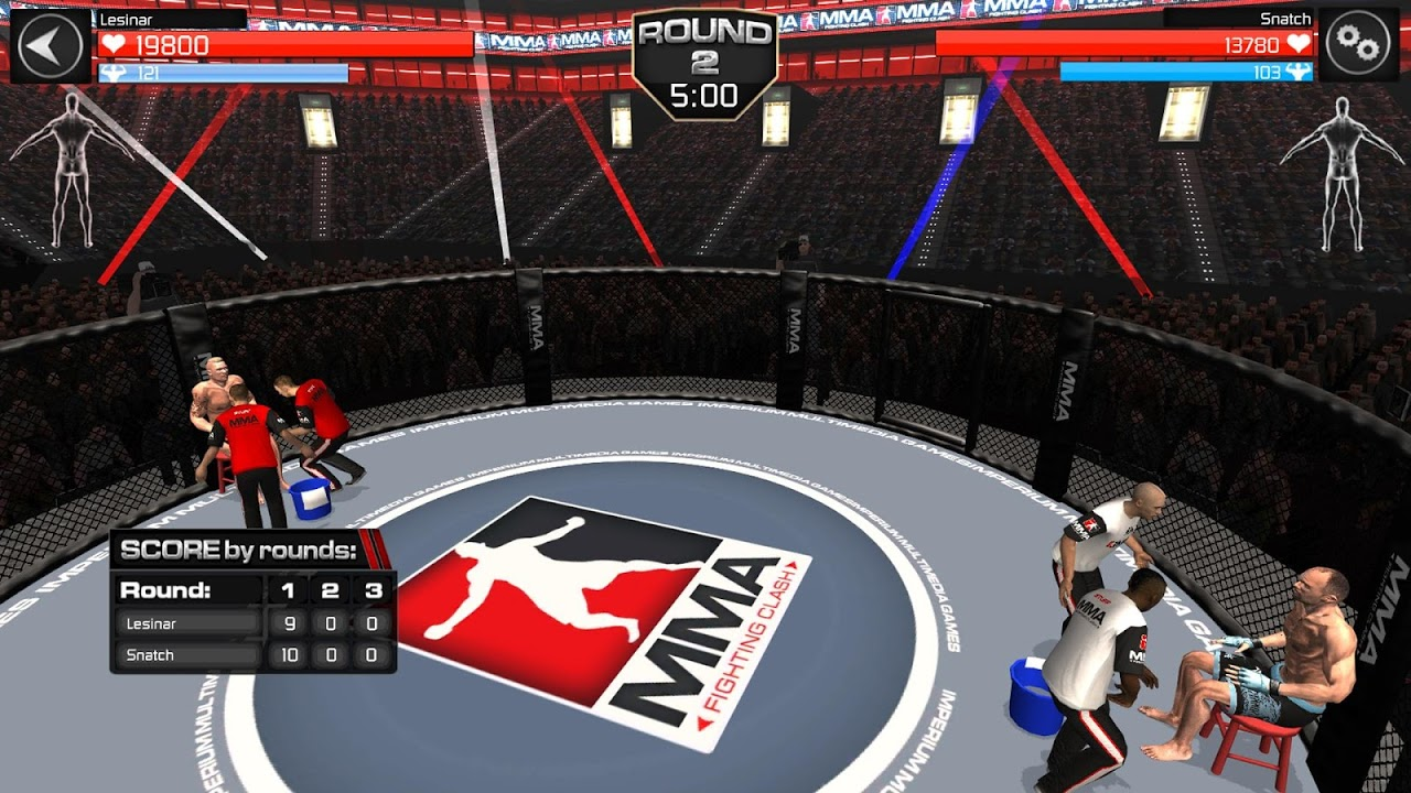 Android MMA Fighting Clash Screen 6