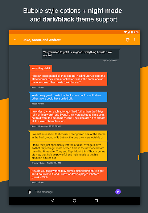 Android Pulse SMS (Phone/Tablet/Web) Screen 19