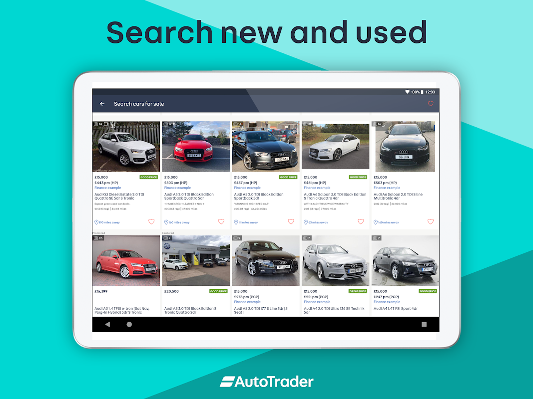 Android Auto Trader - Buy, sell and value new & used cars Screen 5