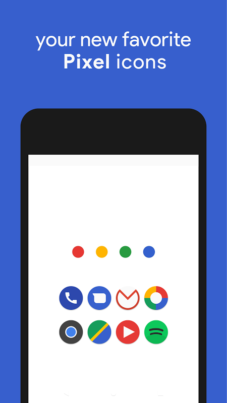 Android Pixly - Pixel 2 Icon Pack Screen 4