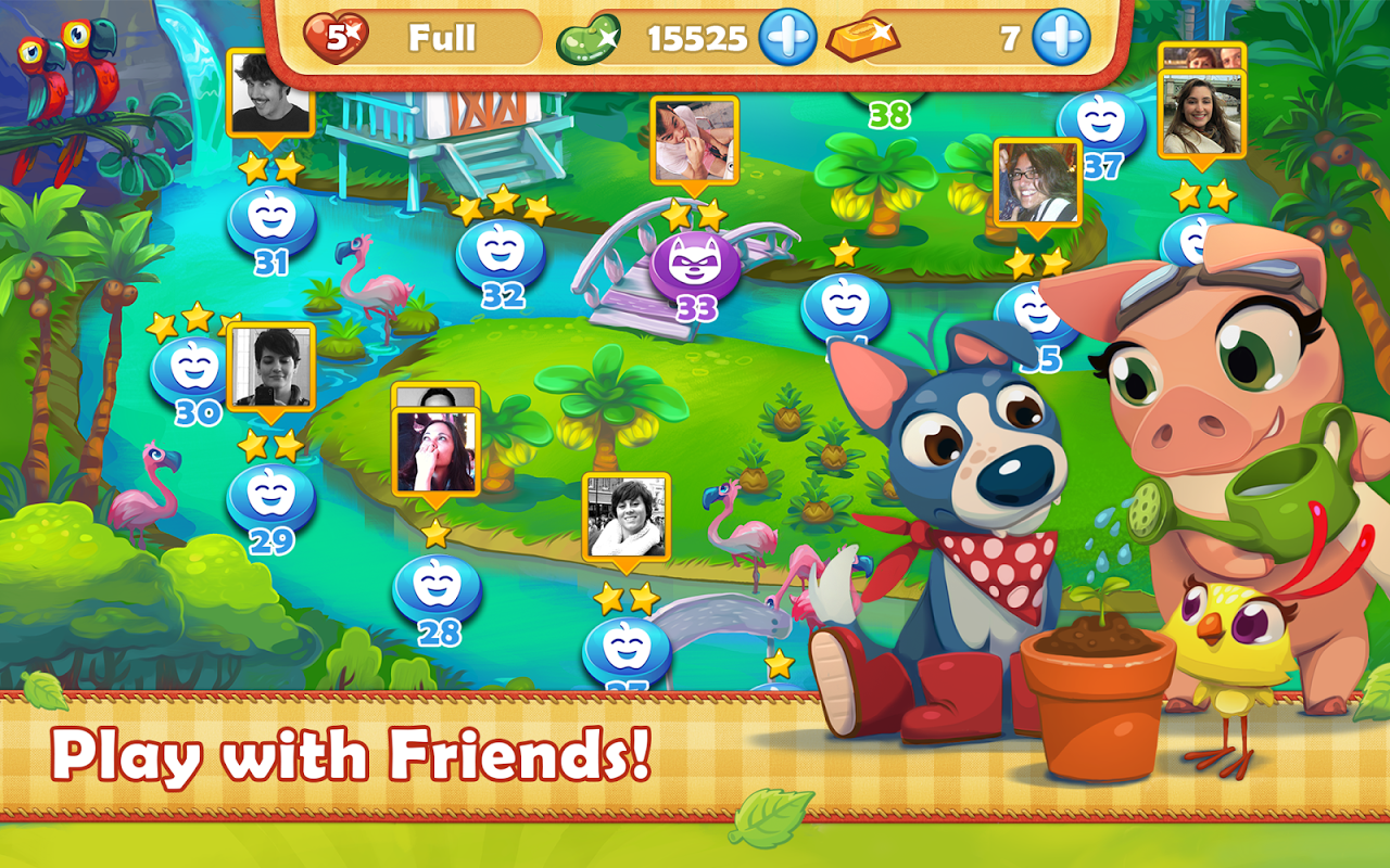 Android Farm Heroes Saga Screen 4