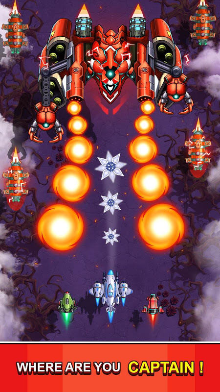 Space Squad : Galaxy Attack of Strike Force 7.8 Screen 4