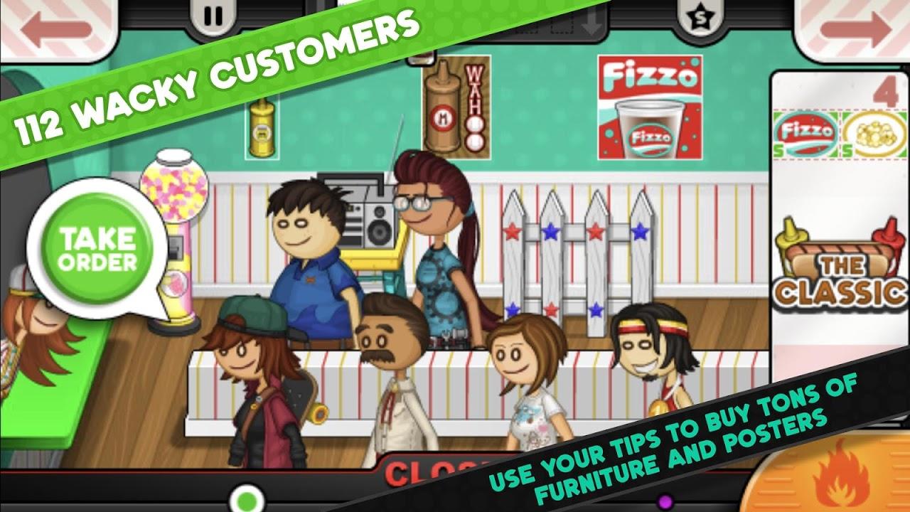 Papa's Hot Doggeria To Go! 1.0.0 Screen 4