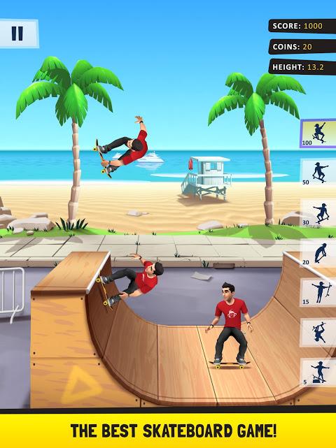 Android Flip Skater Screen 5