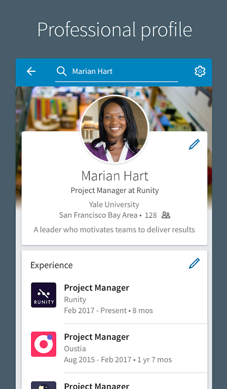 LinkedIn 4.1.195 Screen 1