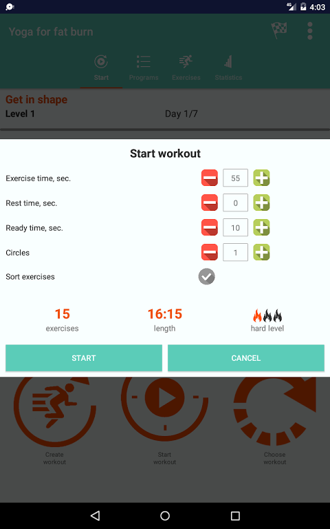 Android Yoga for super weight loss Screen 9