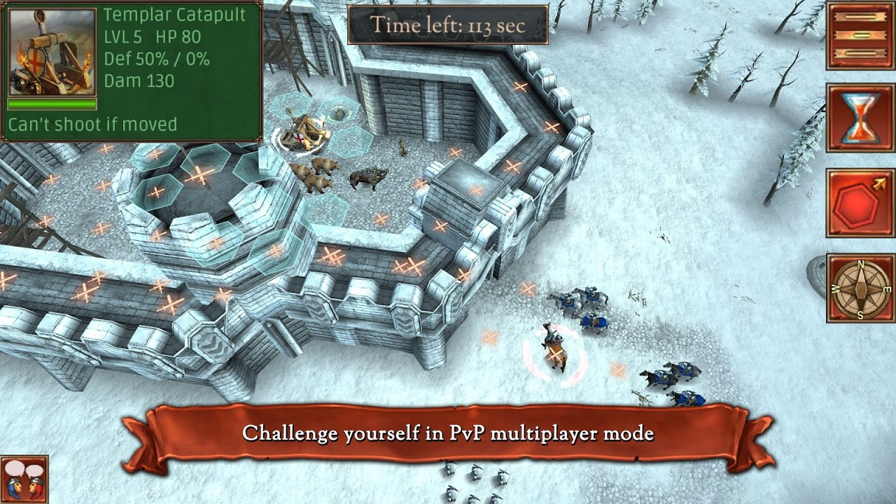 Android Hex Commander: Fantasy Heroes Screen 11