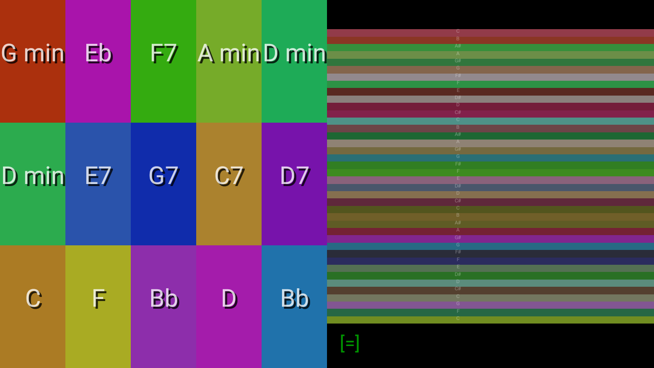 Android Color Autoharp Screen 5