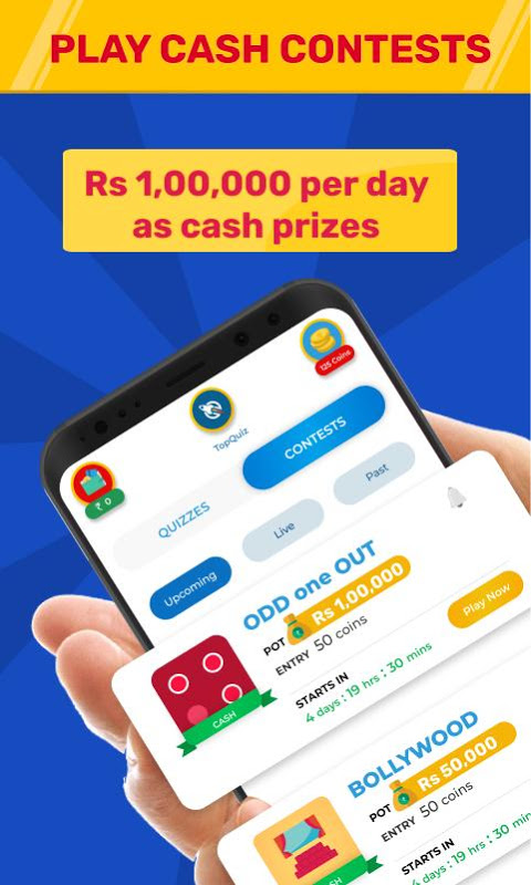 TopQuiz - Play Quiz | Win PayTm cash 9 4 APK Download by