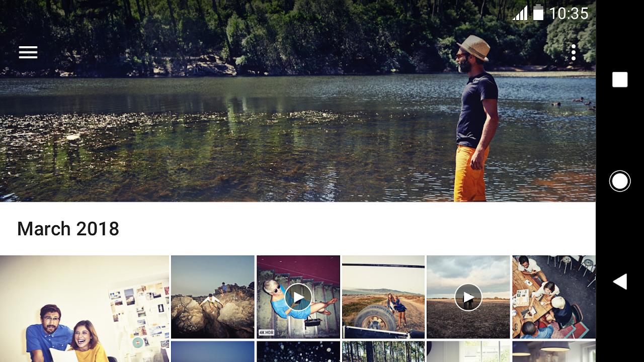 Android Album Screen 6