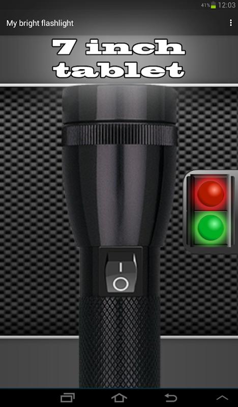 Android My Bright Flashlight Screen 5