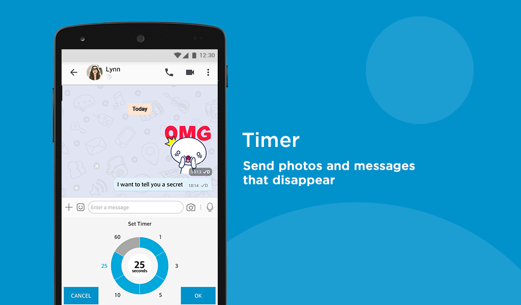 Android BBM - Free Calls & Messages Screen 10