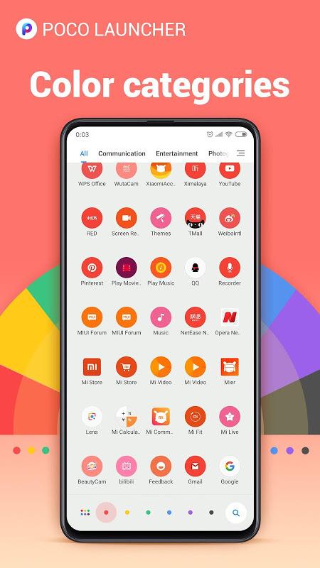 POCO Launcher 2.0- Customize,  Fresh & Clean 2.7.1.5 Screen 5