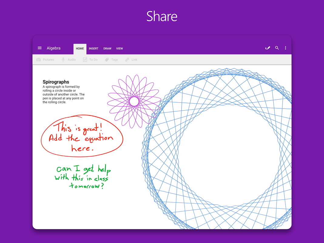 OneNote 16.0.8528.2052 Screen 10