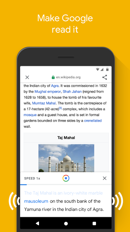 Google Go: A lighter, faster way to search 2.1.232143742.release Screen 7