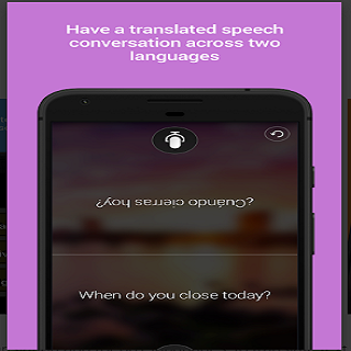Android Microsoft Translator Screen 1