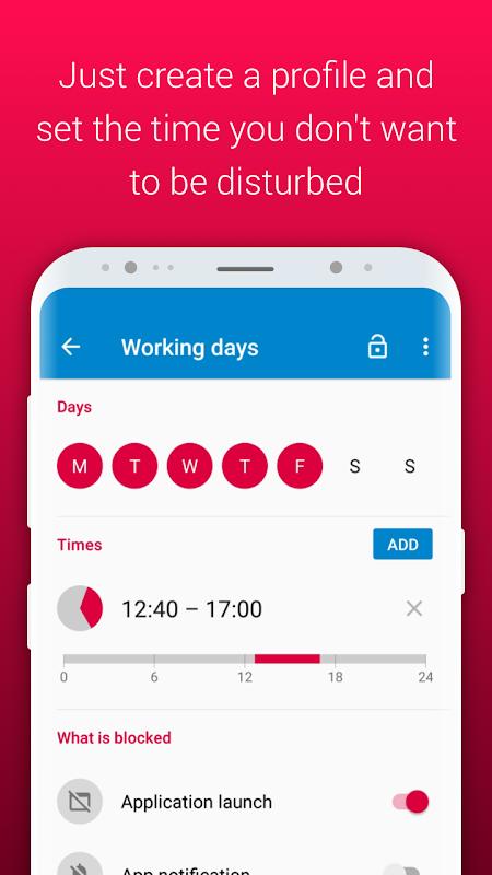 AppBlock - Stay Focused 2.2.1 Screen 1