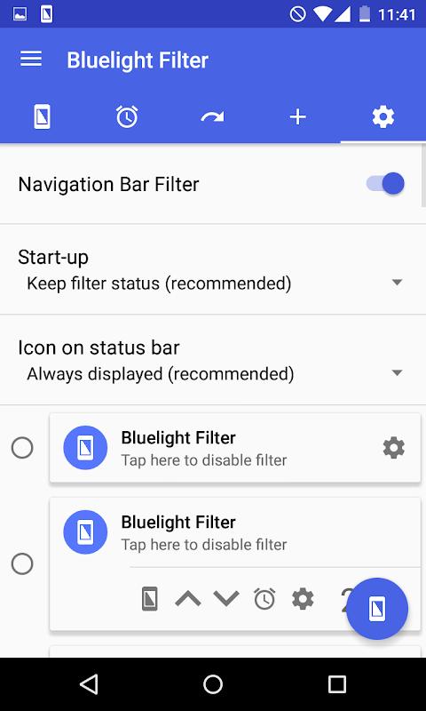 Bluelight Filter for Eye Care 2.9.24 Beta 3 Screen 5
