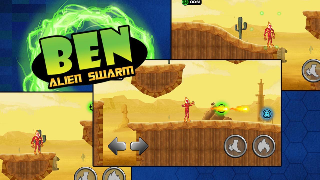 Ben Transfrom Alien Timer 1.0 Screen 1