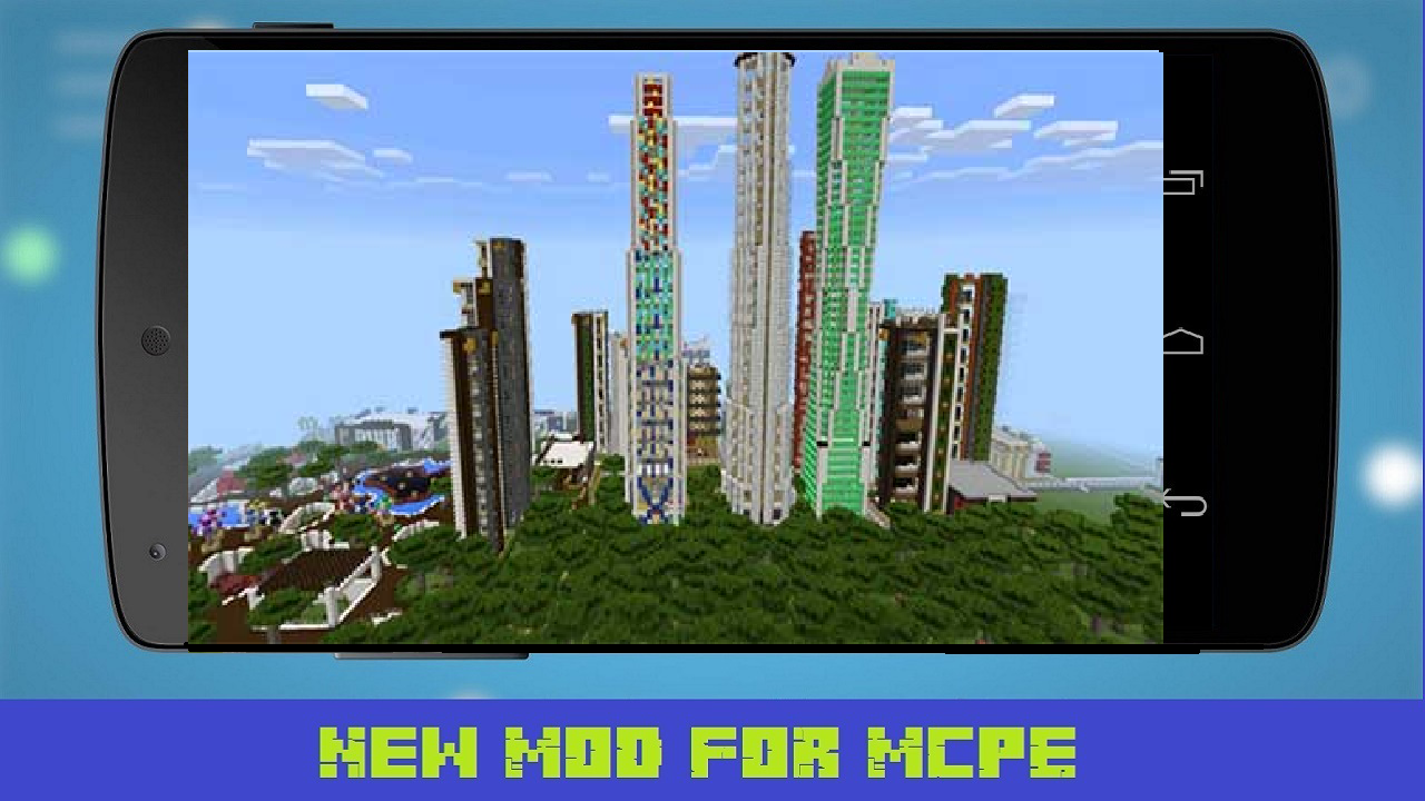 Android Giant City Map for MCPE Screen 1