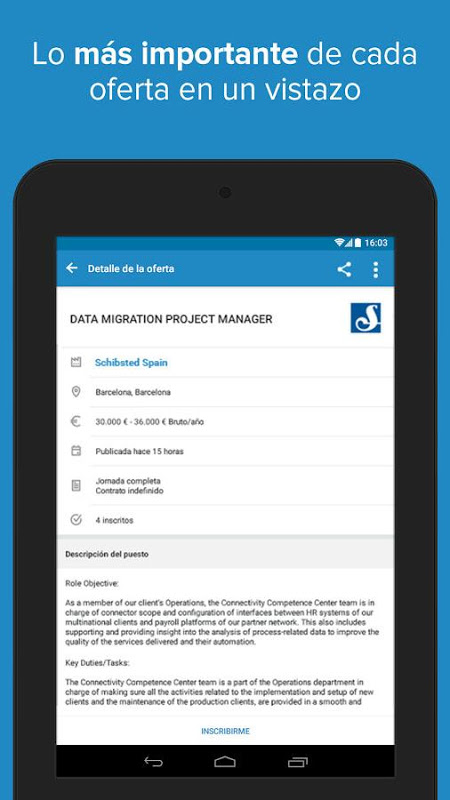 Android InfoJobs - Job Search Screen 20