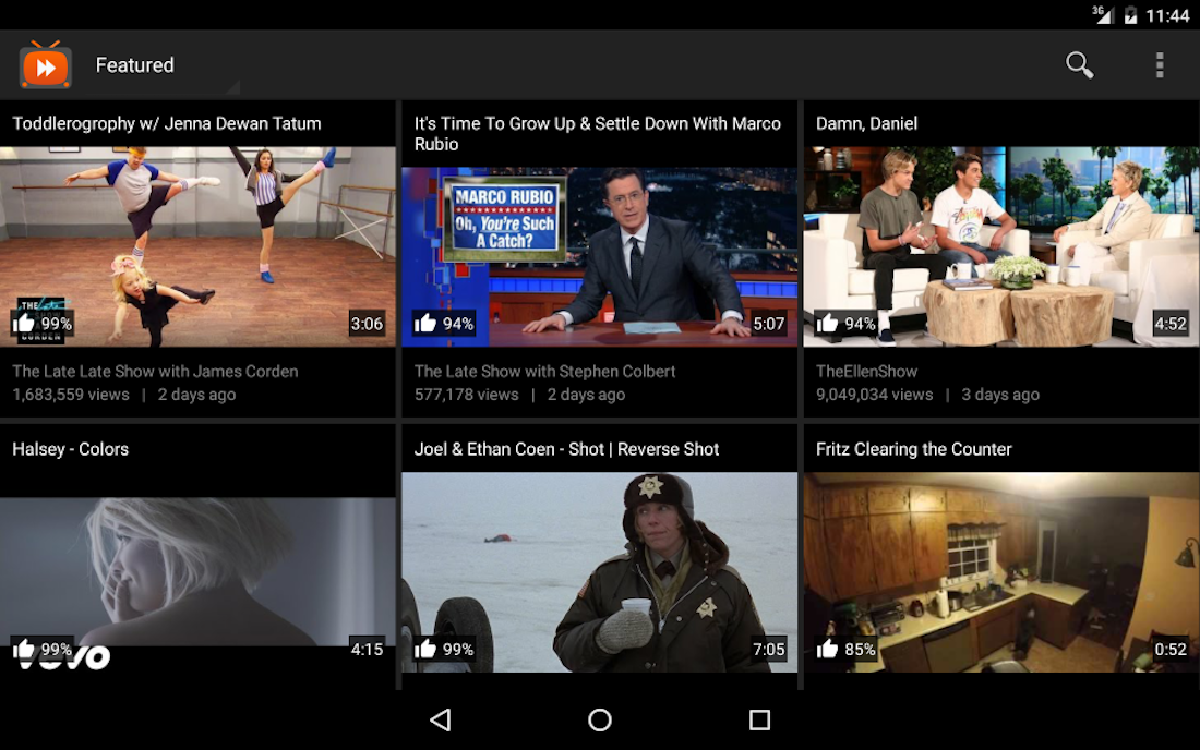 Android VidMate YouTube Video Downloader Screen 1